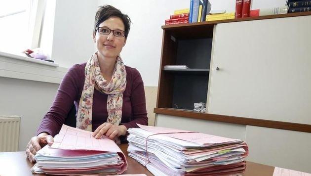 Richterin Maxones-Kurkowski muss sich mit diesem Fall auseinandersetzen. (Bild: Markus Tschepp)