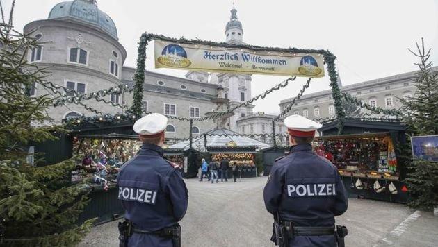 Schon seit 2015 ist die Polizei am Christkindlmarkt präsent, um Taschendiebstähle zu verhindern. (Bild: Markus Tschepp)