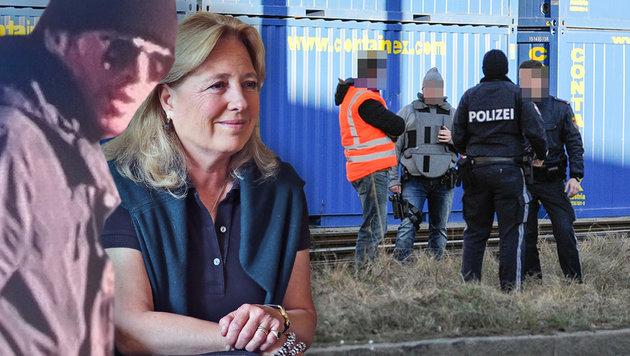 Tochter von Karlheinz Böhm Opfer eines Entführers? (Bild: LKA Tirol, Christof Birbaumer, zeitungsfoto.at)