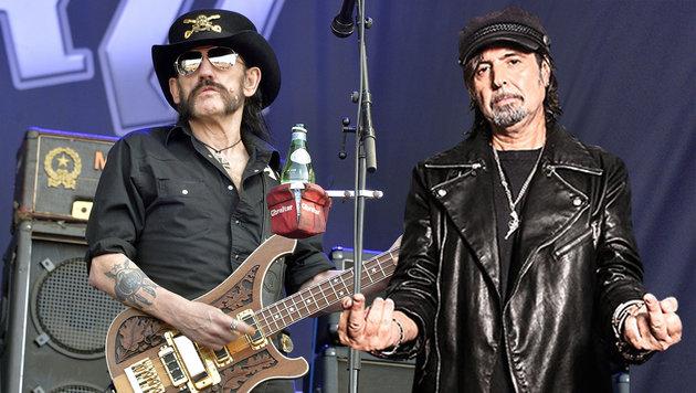 Unvergessen: Motörhead-Legende Lemmy Kilmister (Bild: udr, afp/georges gobet)