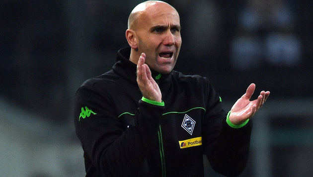 Gladbach wirft Trainer Schubert raus! (Bild: APA/AFP/dpa/FEDERICO GAMBARINI)