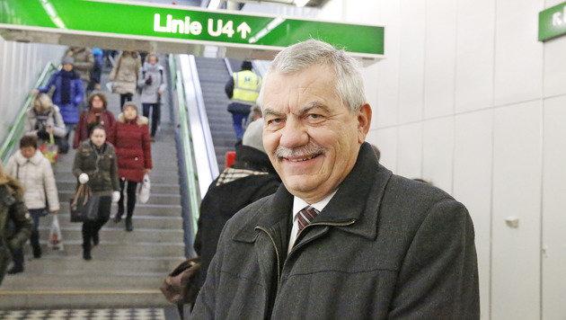 """Günter Steinbauer, Chef der Wiener Linien, spricht von """"Einzelfällen"""". (Bild: Martin A. Jöchl)"""