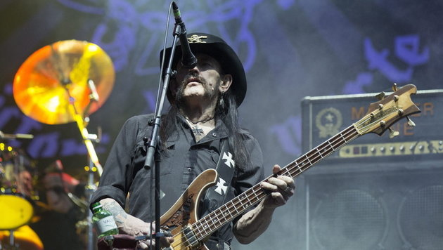 Unvergessen: Motörhead-Legende Lemmy Kilmister (Bild: APA/EPA/PETER KLAUNZER)