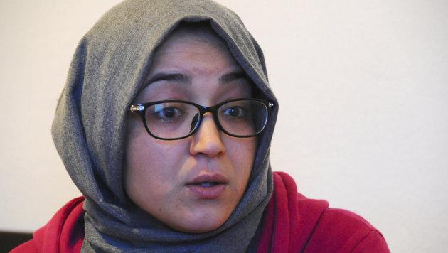 Najoua, eine der Schwestern von Anis Amri (Bild: AP)