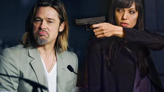 Pitt und Jolie hatten gegenseitige Mordgelüste! (Bild: face to face, Viennareport)