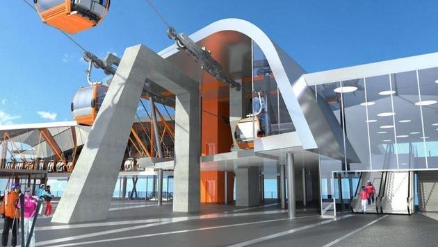 Die Schlossalm bekommt um 85 Millionen Euro ein neues Gesicht. (Bild: Gasteiner Bergbahnen AG)