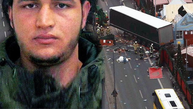 Das geheime Leben der Terror-Bestie von Berlin (Bild: AFP/ODD ANDERSEN, AP)