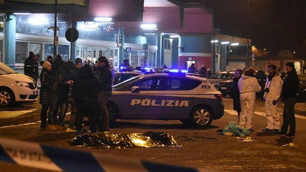 Große Sicherheitslücken am Wiener Hauptbahnhof (Bild: Twitter)