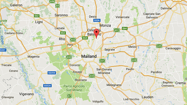Terror-Teufel von Berlin in Mailand erschossen (Bild: Screenshot/Google Maps)