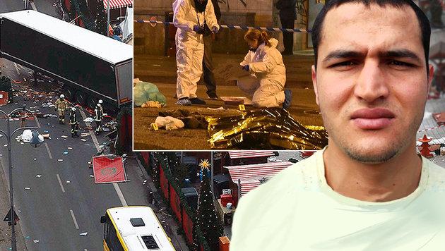 Der Tunesier Anis Amri richtete im Dezember in Berlin ein Blutbad an. (Bild: AFP/HO)