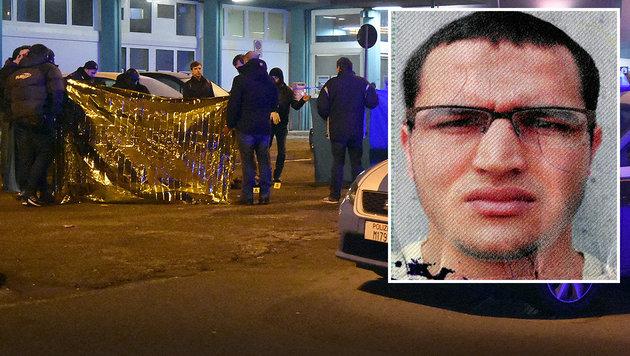 Anis Amri wollte sich in Mailand einer Kontrolle entziehen und wurde von der Polizei erschossen. (Bild: APA/AFP/POLICE JUDICIAIRE/HANDOUT, AP)