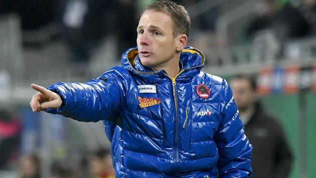 Jochen Fallmann bleibt Trainer des SKN St. Pölten (Bild: APA/HERBERT NEUBAUER)