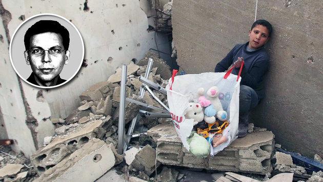 24. Dezember in Syrien: Was vom Kinderzimmer übrig blieb. (Bild: AFP/YOUSSEF KARWASHAN)