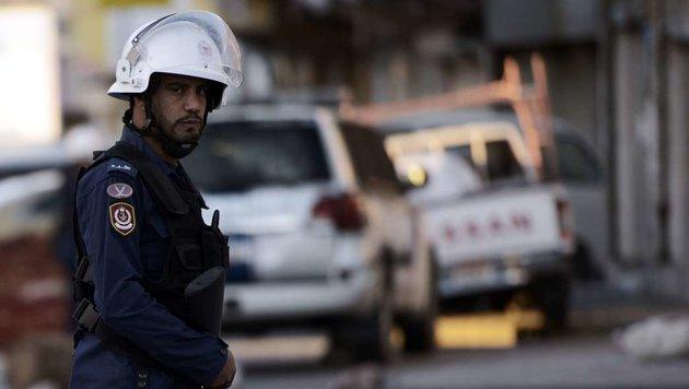 Ein iranischer Polizist (Bild: APA/AFP/MOHAMMED AL-SHAIKH (Symbolbild))