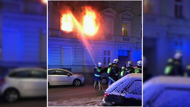 Wohnungsbrand in Wien fordert sechs Verletzte (Bild: MA 68 Lichtbildstelle)