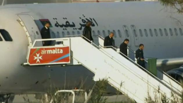Malta: Flugzeugentführer waren Gaddafi-Anhänger (Bild: AP)