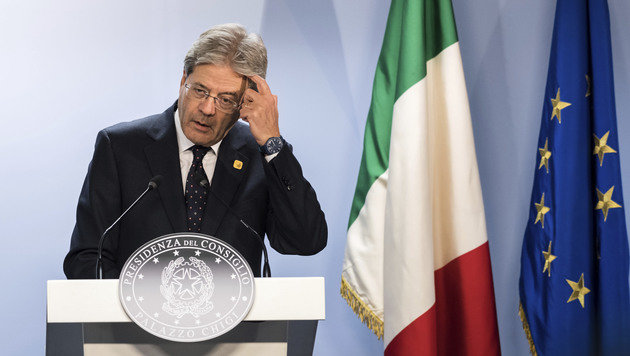 Italiens Regierungschef Paolo Gentiloni (Bild: Associated Press)