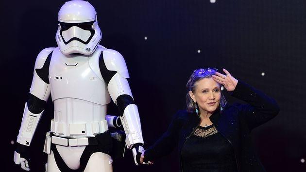 """Carrie Fischers Mutter: """"Sie ist stabil"""" (Bild: AFP)"""