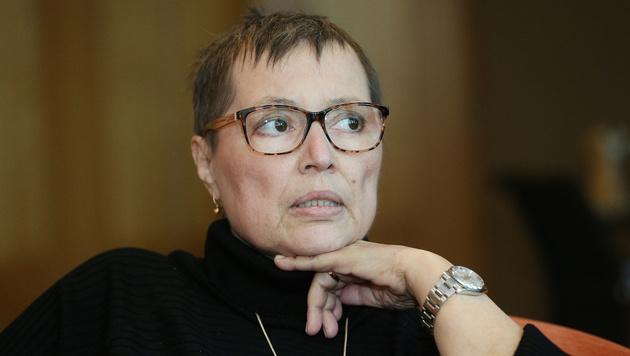 Woher kommt die Zuversicht, Frau Ministerin? (Bild: Peter Tomschi)