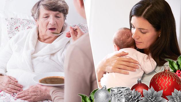 Nicht nur zu Weihnachten: So hilft das ganze Land (Bild: thinkstockphotos.de)