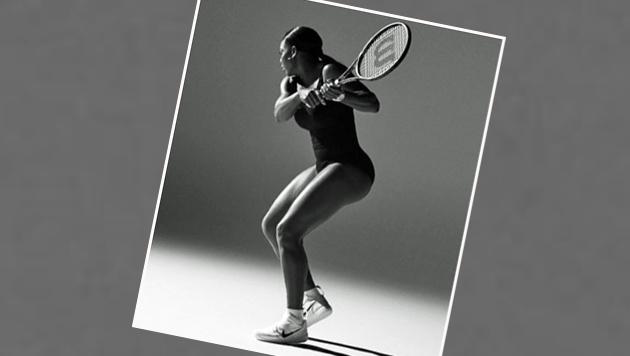 Ein etwas ungewohntes Tennis-Outfit - aber Serena Williams macht auch in diesem Body gute Figur. (Bild: Instagram)