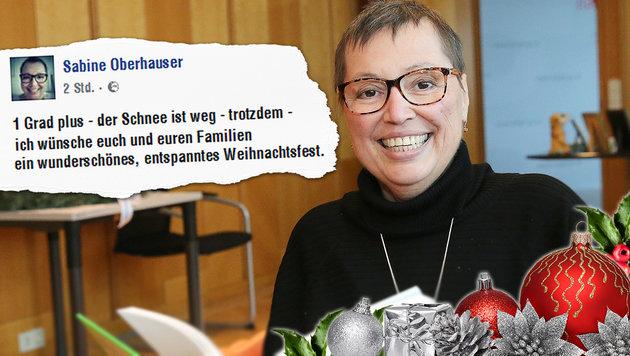 Woher kommt die Zuversicht, Frau Ministerin? (Bild: Peter Tomschi, facebook.com, thinkstockphotos.de)