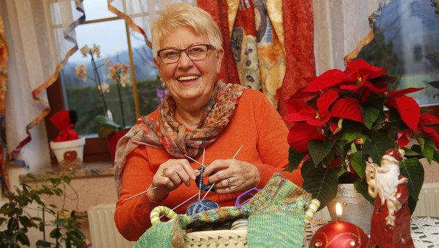 Rosina Zettinig in ihrem Haus in Maria Saal (Bild: Uta Rojsek-Wiedergut)