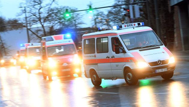 In Augsburg hat am Sonntag die größte Evakuierungsaktion seit dem Zweiten Weltkrieg stattgefunden. (Bild: APA/dpa/Tobias Hase)