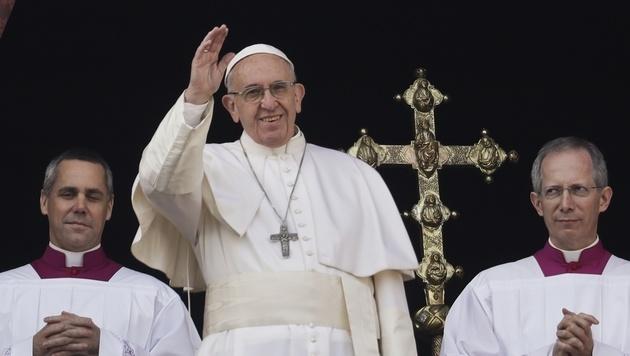 """Papst: """"Es ist Zeit, dass die Waffen schweigen"""" (Bild: The Associated Press)"""