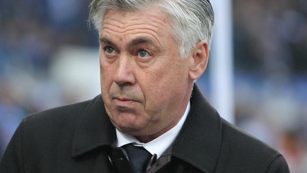 """Ancelotti: """"Fußball kann sich selber fressen"""" (Bild: APA/AFP/AMELIE QUERFURTH)"""