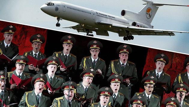 Russisches Flugzeug über Schwarzem Meer abgestürzt (Bild: EPA/MOHAMED MESSARA, EPA)