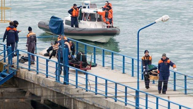 Flugschreiber der russischen Tupolew geborgen (Bild: AFP)