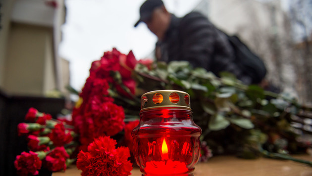 Russland trauert um 92 Absturz-Opfer (Bild: AFP)