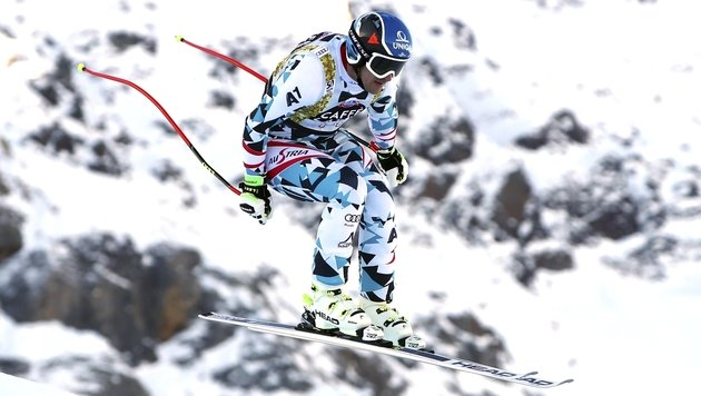 Matthias Mayer im Santa-Caterina-Training (Bild: Associated Press)