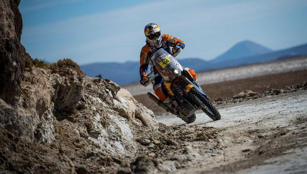 Rallye Dakar: Walkner will unter die Top drei (Bild: GEPA)
