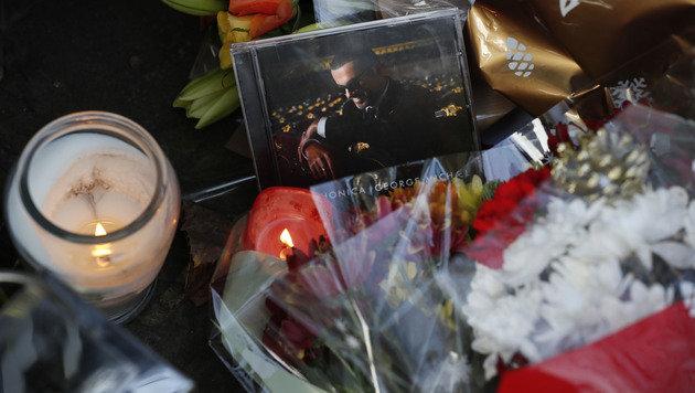 George Michael drei Monate nach Tod beigesetzt (Bild: The Associated Press)
