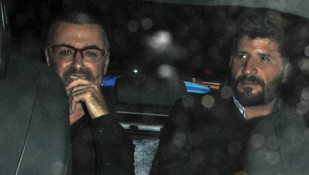 George Michael und Fadi Fawaz (Bild: Viennareport)