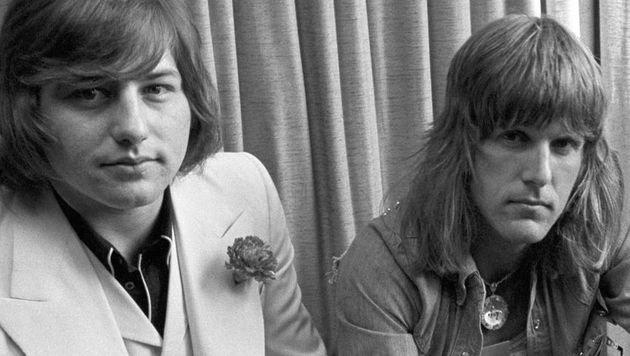 Greg Lake (li.) und Keith Emerson (Bild: AP)
