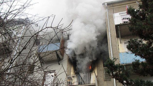 Mehrere Brände hielten Feuerwehren auf Trab (Bild: APA/BF GRAZ)