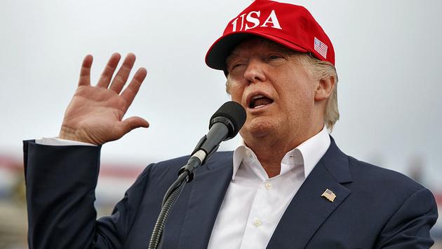 Lässt immer wieder mit Kritik an den Vereinten Nationen aufhorchen: Donald Trump (Bild: AP)