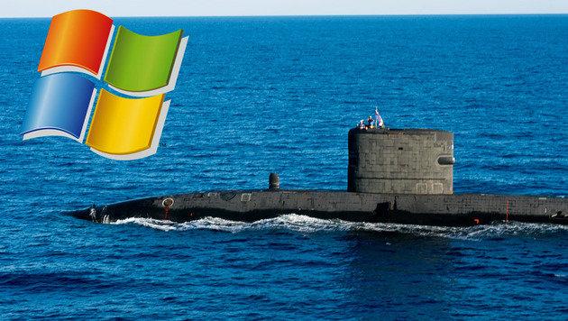 Britische Atom-U-Boote laufen noch mit Windows XP (Bild: flickr.com/cne-cna-c6f, Microsoft)