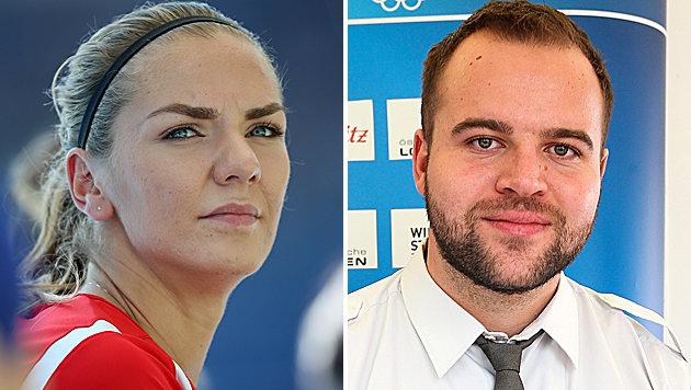 Ivona Dadic und Lukas Weißhaidinger (Bild: GEPA)