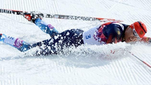 Doping: Langlauf-Olympiasieger Legkow suspendiert (Bild: KIRILL KUDRYAVTSEV / AFP / picturedesk.com)
