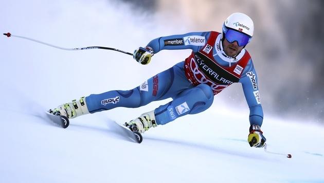 An ihm gab's kein Vorbeikommen: Tagessieger Kjetil Jansrud (Bild: AP)