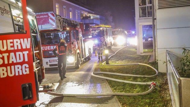 13 Verletzte bei Brand in Salzburger Pflegeheim (Bild: Markus Tschepp)