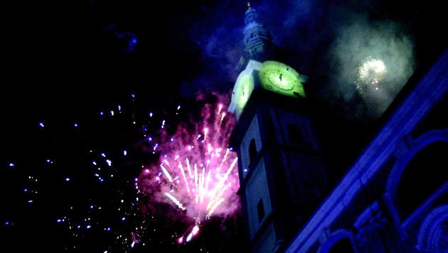 Ein Feuerwerk in Klagenfurt darf nur von offizieller Seite veranstaltet werden. (Bild: Klagenfurt Tourismus)