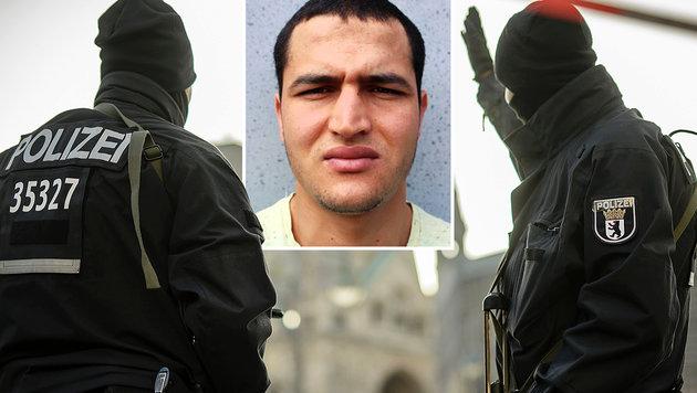 Mutmaßlicher Kontaktmann Amris festgenommen (Bild: AFP/CLEMENS BILAN, AFP/BKA)
