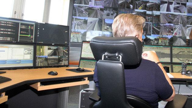 Videoüberwachung: Im Visier elektronischer Augen (Bild: Andi Schiel)