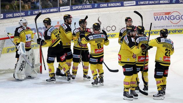 Vienna Capitals gewinnen auch Schlager gegen Linz (Bild: GEPA)
