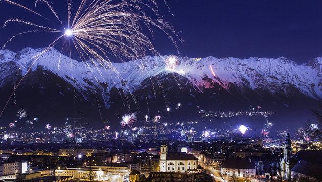 Silvester: Hier sind private Feuerwerke tabu! (Bild: Innsbruck Tourismus)